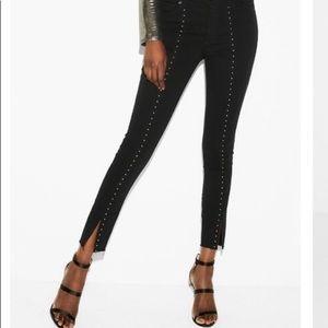 Studded Black Jeans
